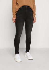 Dr.Denim Petite - MOXY - Jeans Skinny Fit - black mist - 0