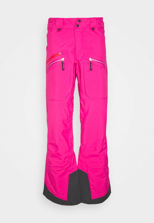 WOMENS BACKSIDE PANTS - Skibukser - pink