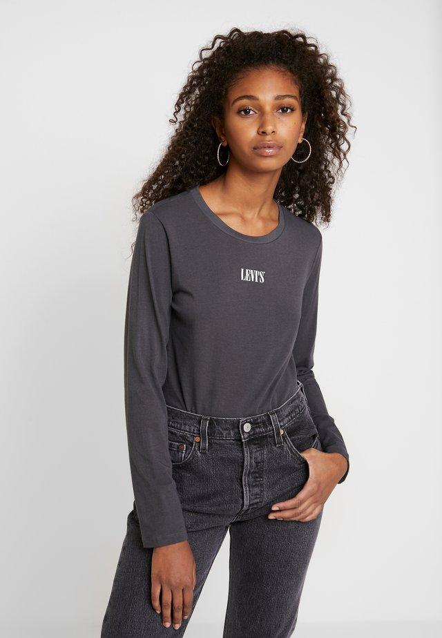 GRAPHIC BODYSUIT - Bluzka z długim rękawem - forged iron