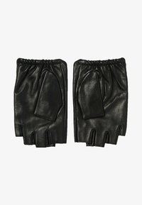 KARL LAGERFELD - Fingerless gloves - black/gold - 0