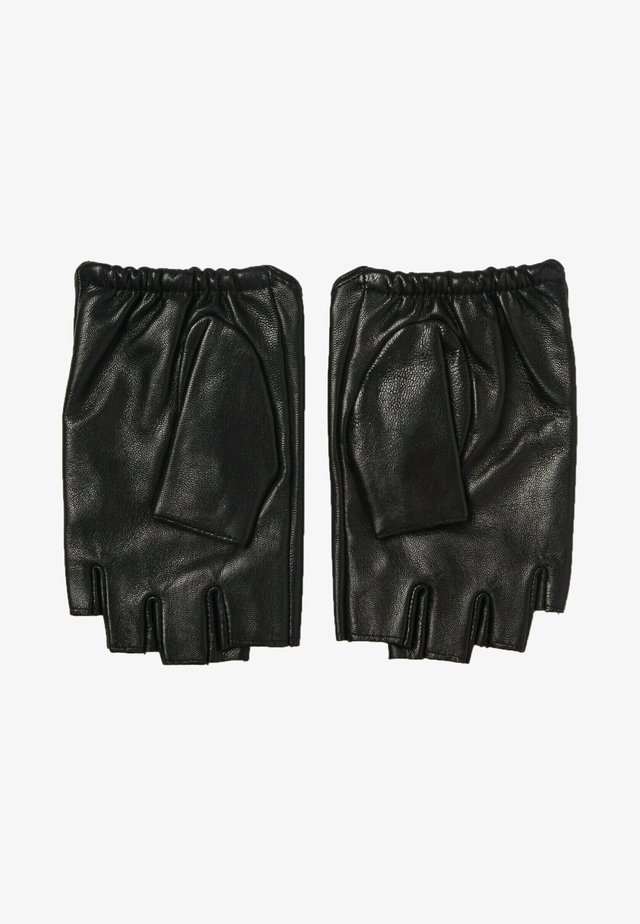 Kurzfingerhandschuh - black/gold