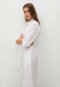 Mango - Košilové šaty - white - 3