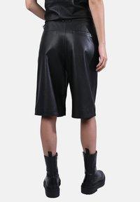 Oakwood - CITY - Leather trousers - black - 2