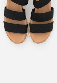 Madden Girl - BRENNA - Platform sandals - black paris - 5