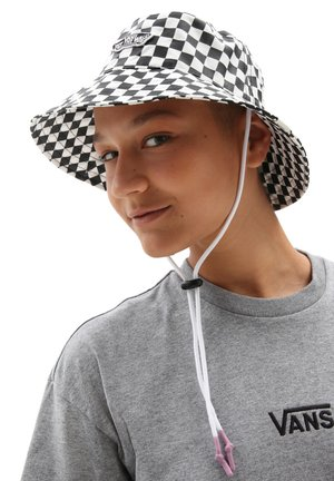 LEVEL UP BUCKET - Hatt - checkerboard