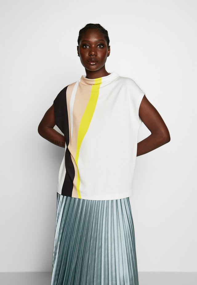 KOWA LINES - T-shirt con stampa - lime