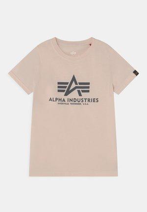 BASIC KIDS TEENS - T-shirt med print - jet stream white