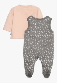 Jacky Baby - IN THE CLOUDS SET - Sleep suit - braun mélange/rosa - 1