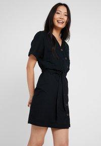 Esprit - Skjortekjole - black - 0