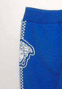 Versace - BOTTOM FELPA UNISEX - Trousers - bluette - 2