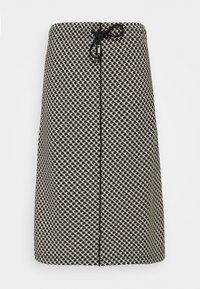 Opus - ROSALYN PEPITA - A-line skirt - black - 0