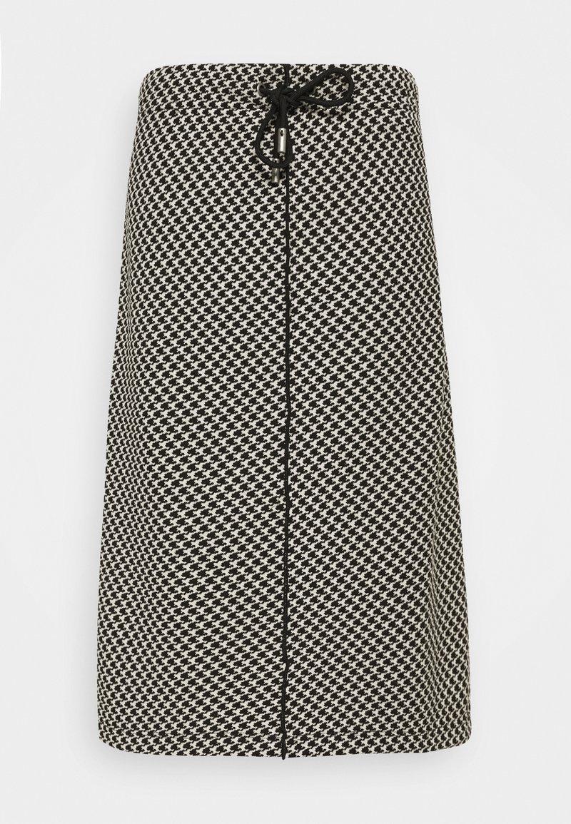 Opus - ROSALYN PEPITA - A-line skirt - black