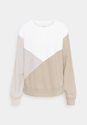 NONLOGO CREW - Sweatshirt - brown