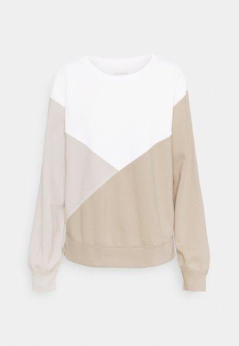 NONLOGO CREW - Sweatshirt - brown
