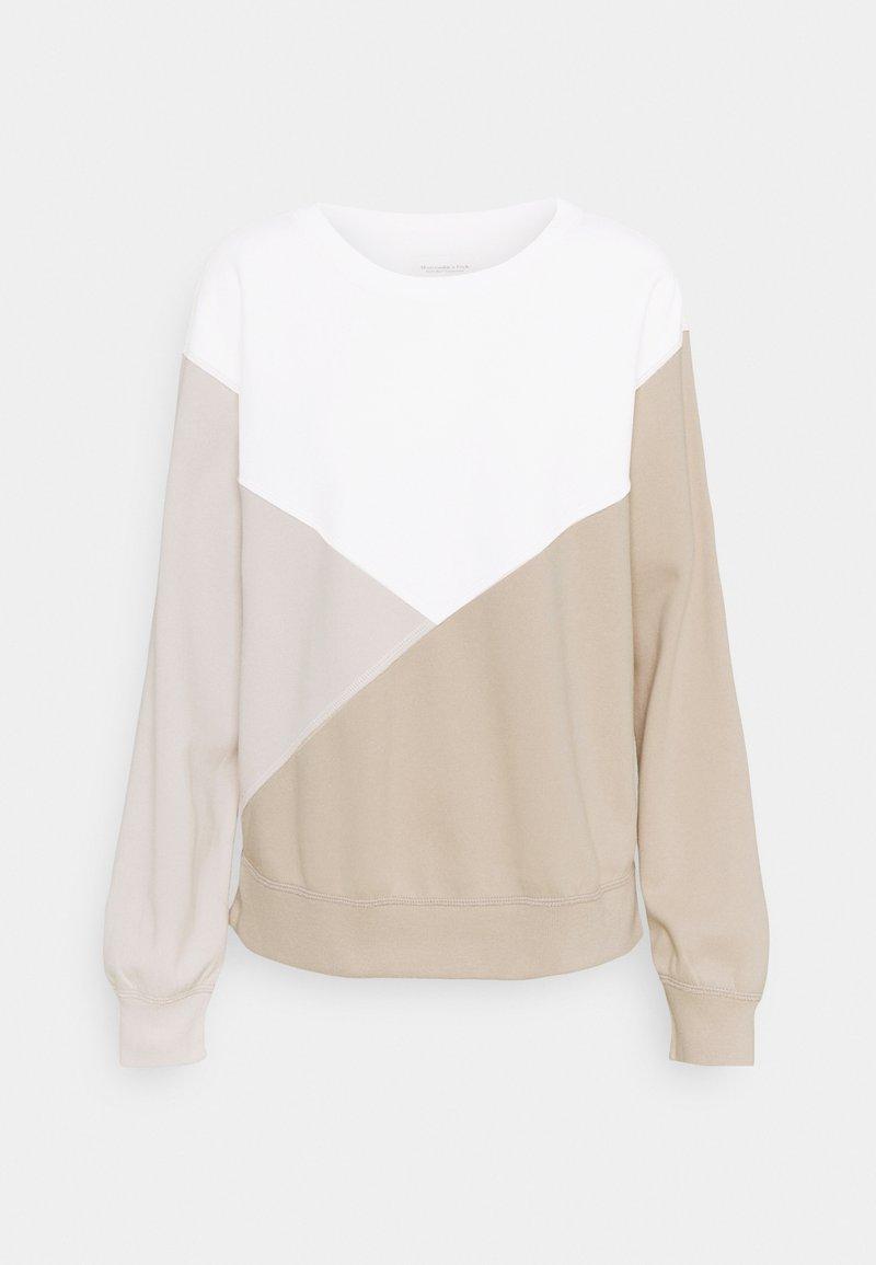 Abercrombie & Fitch - NONLOGO CREW - Sweatshirt - brown