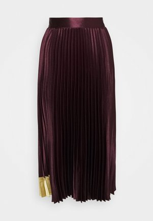 GLAYCIE - A-line skirt - dark red