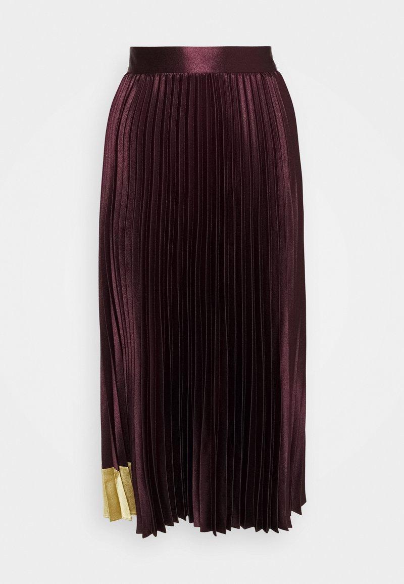 Ted Baker - GLAYCIE - A-line skirt - dark red