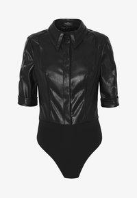 Elisabetta Franchi - Button-down blouse - nero - 5
