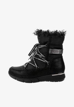 CARRUFO - Bottes de neige - black