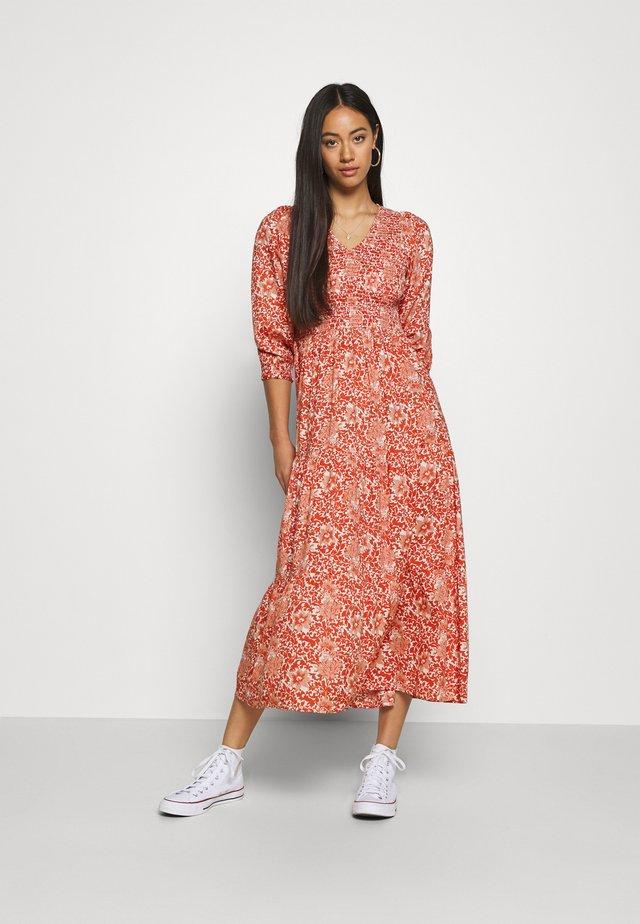 YASDAMASK  LONG DRESS - Day dress - whisper pink