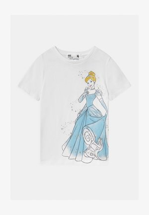 DISNEY CINDERELLA SHORT SLEEVE  - Print T-shirt - white