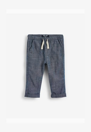 LOOSE FIT UTILITY PULL-ON (3MTHS-7YRS) - Cargo trousers - blue