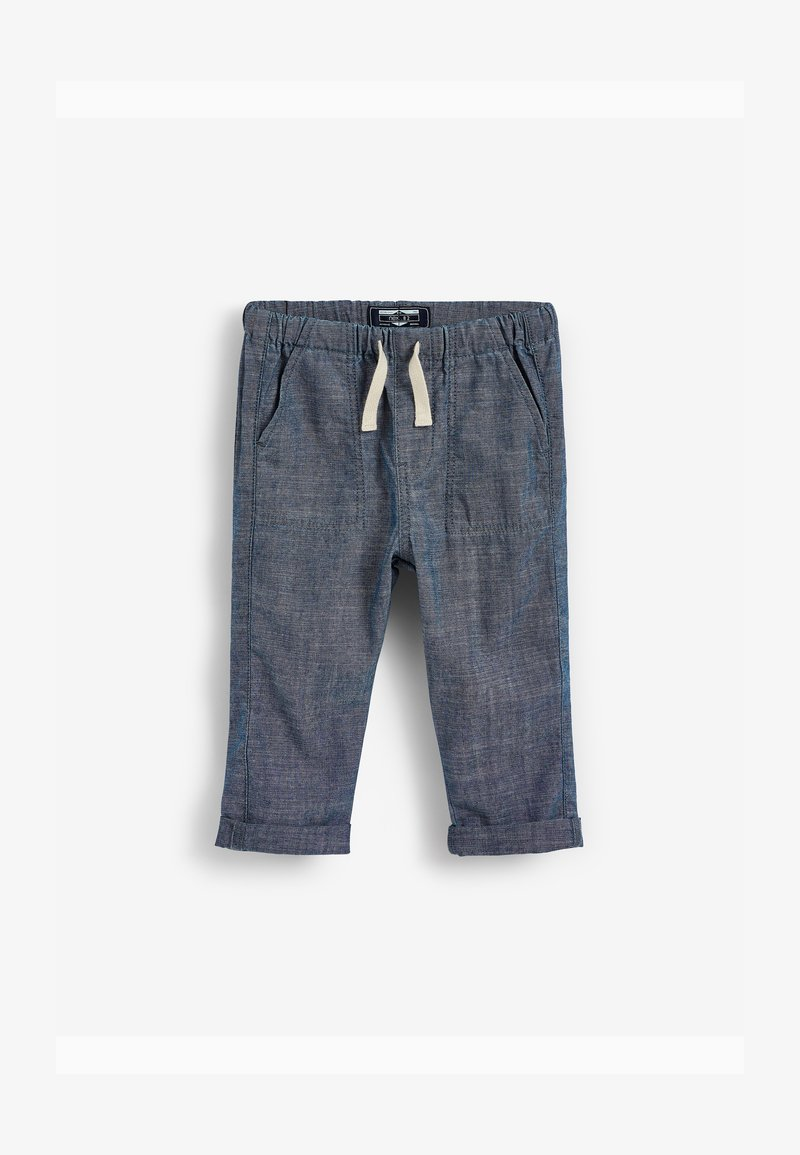 Next - LOOSE FIT UTILITY PULL-ON (3MTHS-7YRS) - Cargo trousers - blue