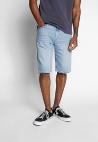 Tommy Jeans - REY - Denim shorts - light-blue denim - 0