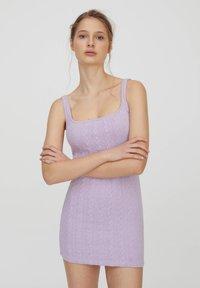 PULL&BEAR - Jumper dress - purple - 0