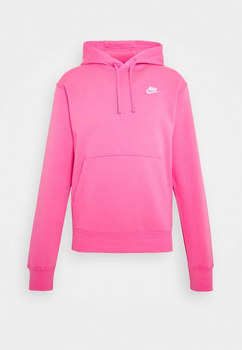 Nike Sportswear - CLUB HOODIE - Hættetrøjer - pinksicle/white