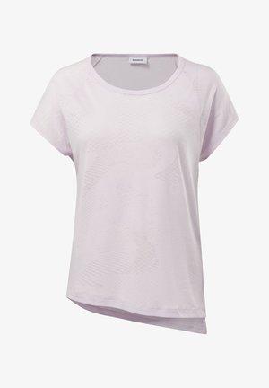 BURNOUT TEE - Print T-shirt - pixel pink
