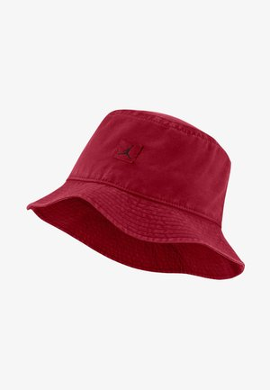 BUCKET WASHED UNISEX - Beanie -  red
