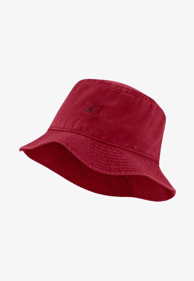 BUCKET WASHED UNISEX - Kapelusz -  red