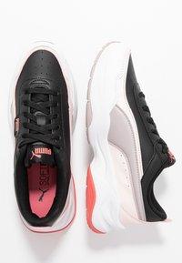 Puma - CILIA MODE - Sneakersy niskie - black/rosewater/raindrops/sun kissed coral - 3