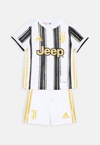 adidas Performance - JUVE BABY SET UNISEX - Squadra - white/black - 2