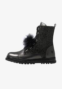 Primigi - Šněrovací kotníkové boty - asfalto/nero - 1