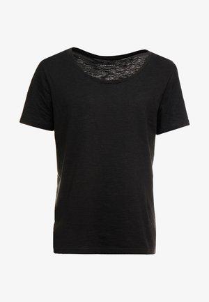 T-shirt - bas - jet black