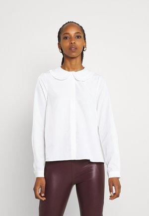 VMANNY COLLAR - Button-down blouse - snow white