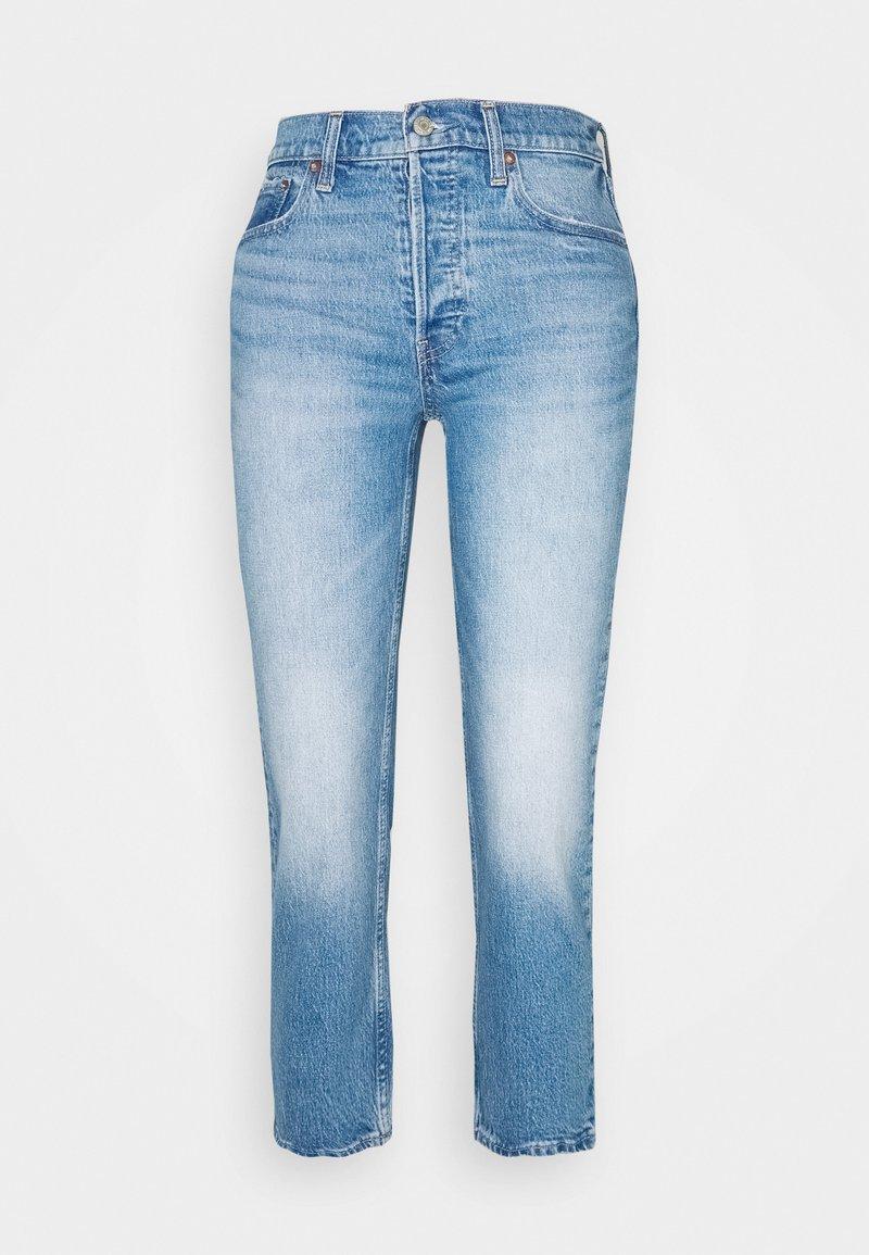 GAP Petite - CHEEKY STRAIGHT ATLANTIC - Jeans Skinny Fit - medium indigo