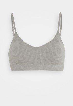 Bustier - grey melange