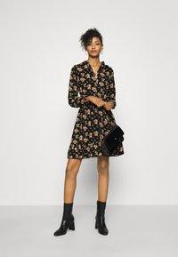 Molly Bracken - LADIES DRESS - Shirt dress - black - 1