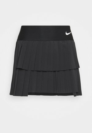SKIRT PLEATED - Sportrock - black/white