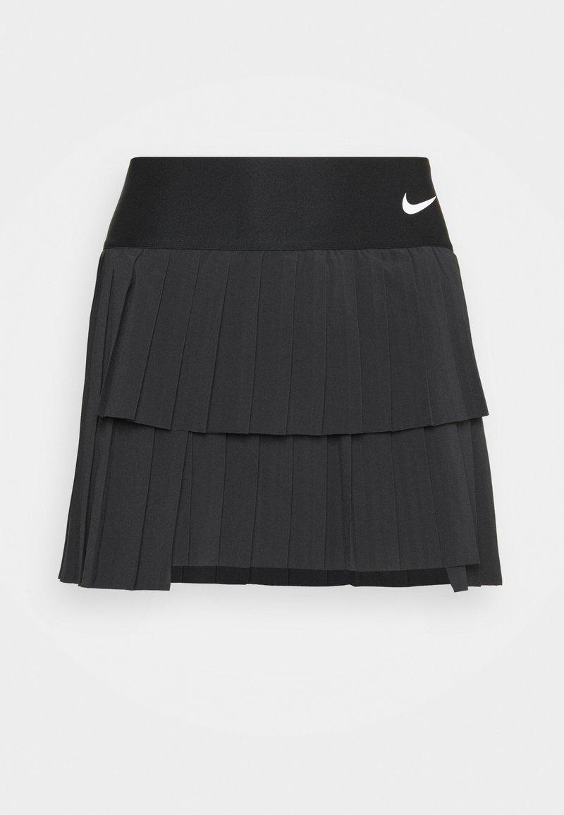 Nike Performance - SKIRT PLEATED - Sports skirt - black/white