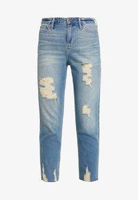 Hollister Co. - MOM - Slim fit jeans - destroyed denim - 3