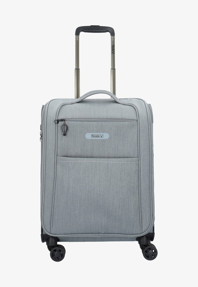 FLOATING  - Wheeled suitcase - stone grey