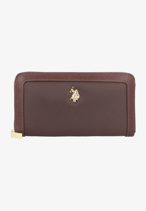 HOUSTON ZIP WALLET - Wallet - dark brown