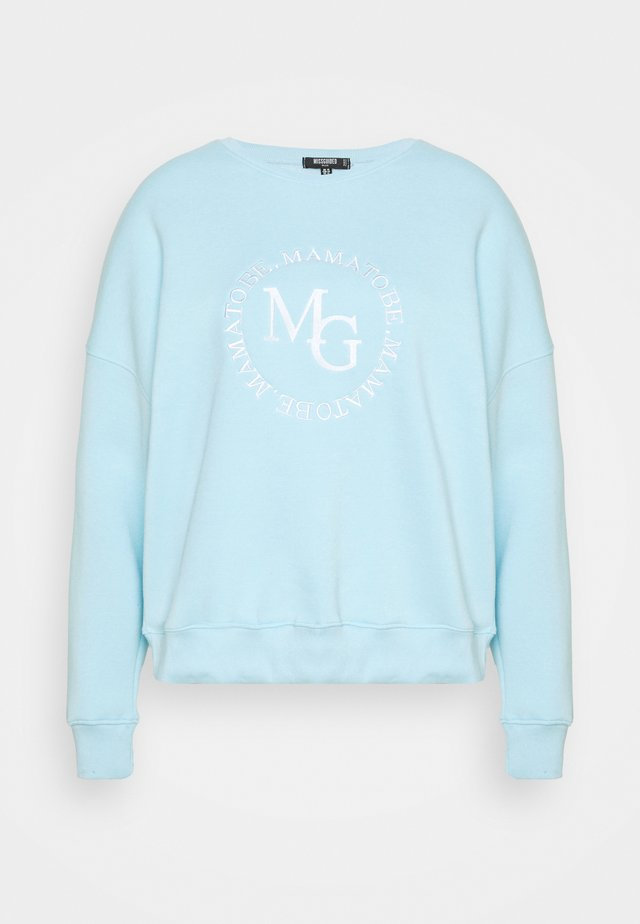 DEEP  - Sweater - powder blue