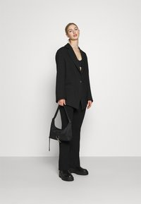Weekday - MARLIN OVERSIZED - Short coat - black - 1