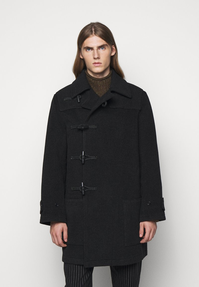 YMC You Must Create - SPEAKEASY COAT - Klasický kabát - charcoal