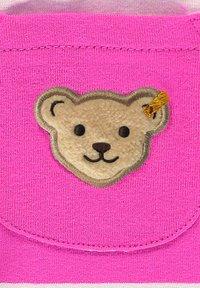 Steiff Collection - MIT STREIFEN UND TEDDYBÄRMOTIV - Tracksuit bottoms - pink - 2
